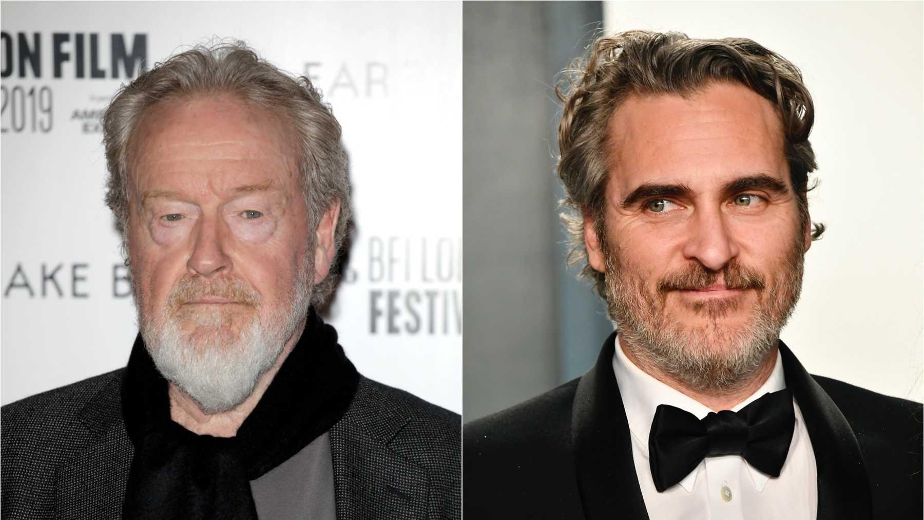 Ridley Scott vai dirigir filme de Napoleão com Joaquin Phoenix para a Apple