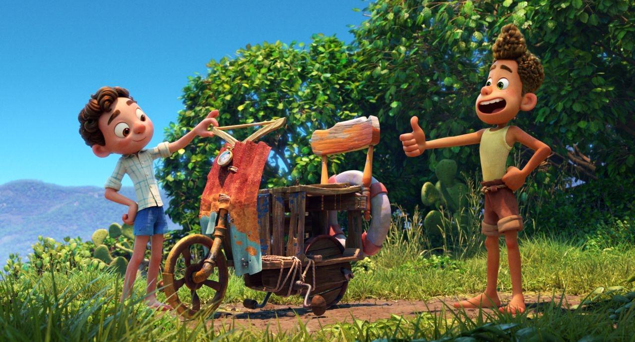 Luca, novo filme da Pixar, ganha clipe com nova cena