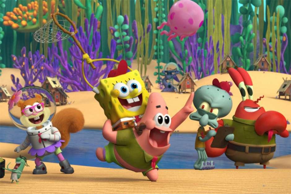 Bob Esponja terá série 3D sobre sua infância no Paramount+