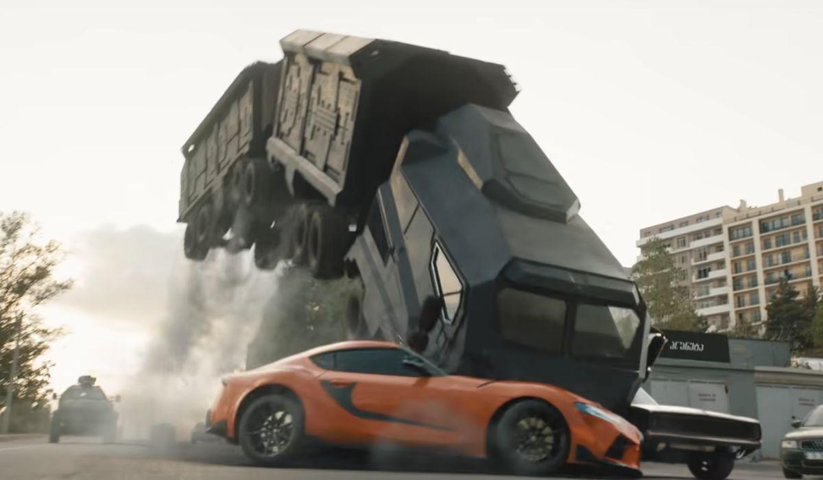 Velozes e Furiosos 9 mostra carnificina de carros em vídeo dos bastidores
