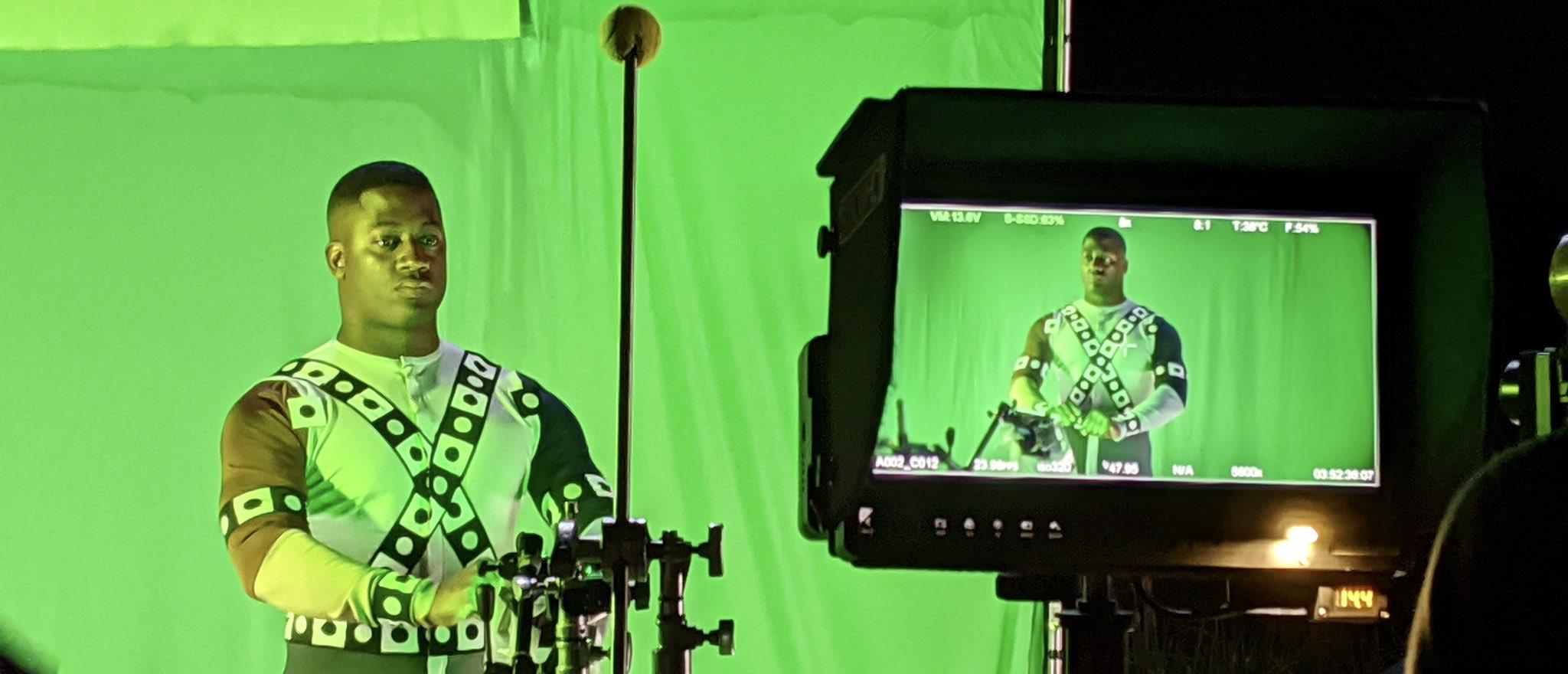Liga da Justiça de Zack Snyder | Fotos dos bastidores revelam Wayne T. Carr como Lanterna Verde