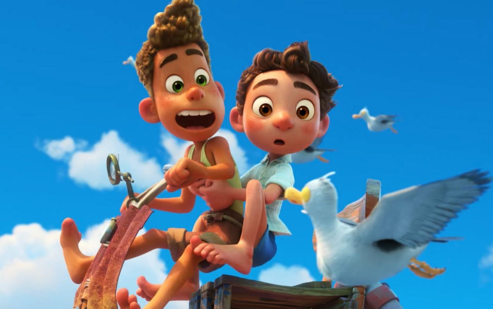 Luca, da Pixar, será lançado exclusivamente no Disney+ e sem custo adicional