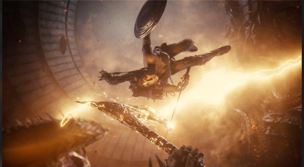 Zack Snyder diz que seu corte está 99% completo e divulga imagens inéditas da Mulher-Maravilha