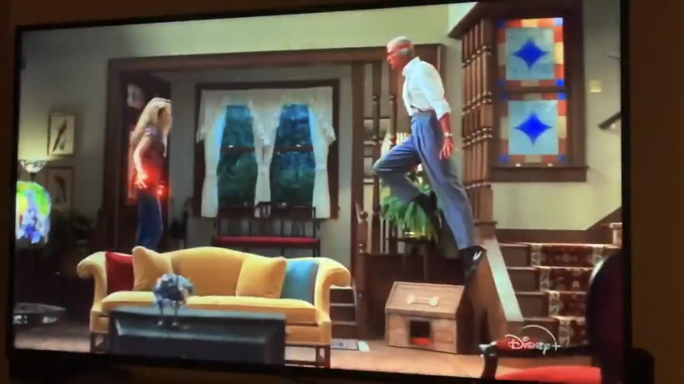Comercial de WandaVision mostra briga de casal