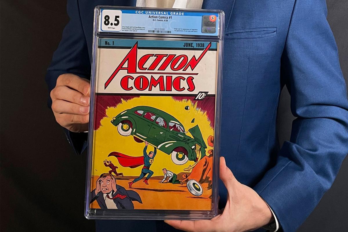Edição rara de Action Comics #1 é vendida por US$ 3.25 milhões em leilão