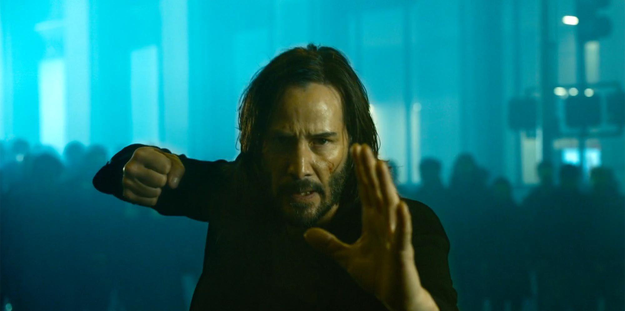 Matrix 4 | Primeira imagem oficial de Keanu Reeves como Neo é divulgada