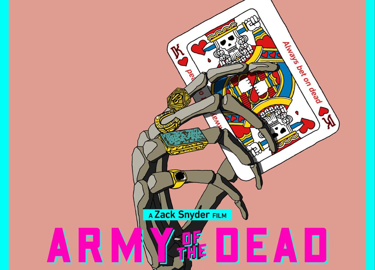 Zack Snyder divulga pôster e data do novo trailer de Army of the Dead